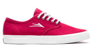 Lakai - Oxford Shoes | Red Canvas