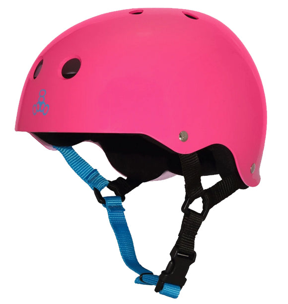 Triple Eight - Sweatsaver Helmet | Neon Fuschia