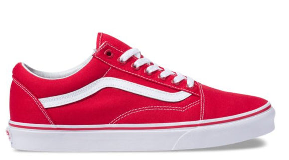 Vans - Old Skool Shoes | Racing Red