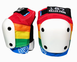 187 Killer Pads - Slim Knee Pads | Rainbow