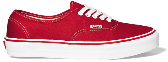 Vans - Authentic Shoes | Red White