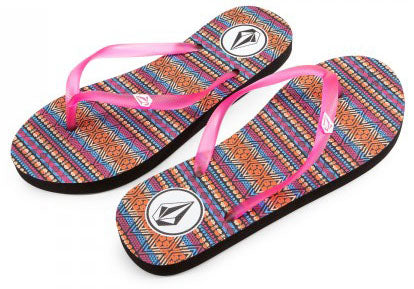 Volcom - Kids Rocking II Sandals | Firecracker
