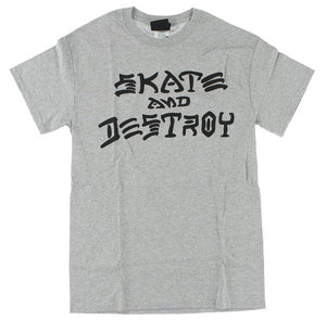 Thrasher - Skate & Destroy Tee | Heather Grey