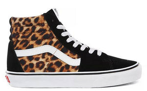 Vans - Sk8-Hi Shoes | Black (Leopard)