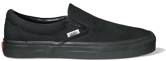 Vans - Classic Slip-On Shoes | Black Black
