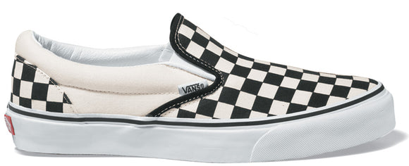 Vans - Classic Slip-On Shoes | Black White (Checkerboard)