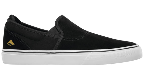 Emerica - Wino G6 Slip-On Shoes | Black White