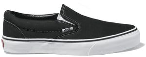 Vans - Classic Slip-On Shoes | Black (Canvas)