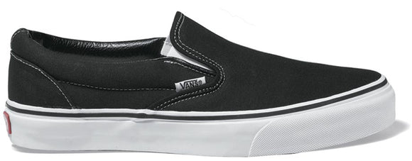 Vans - Classic Slip-On Shoes | Black