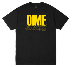Dime - Support Tee | Black