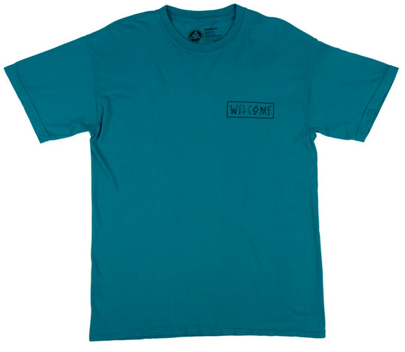 Welcome - Latin Tali Garment Dyed Tee | Topaz Prism