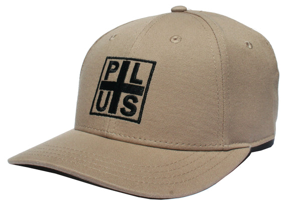 Plus - Block Twill Snapback Hat | Sand
