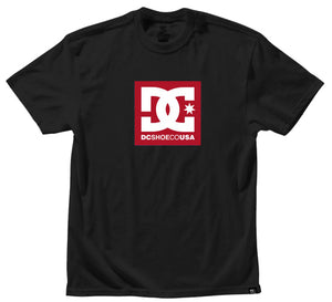 DC - Square Star Tee | Black