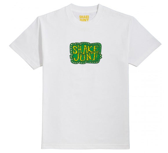 Shake Junt - Trippy Box Tee | White