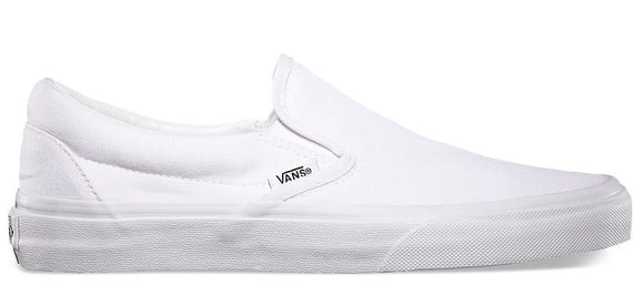 Vans - Classic Slip-On Shoes | True White