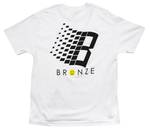 Bronze - Smiley B Logo Tee | White
