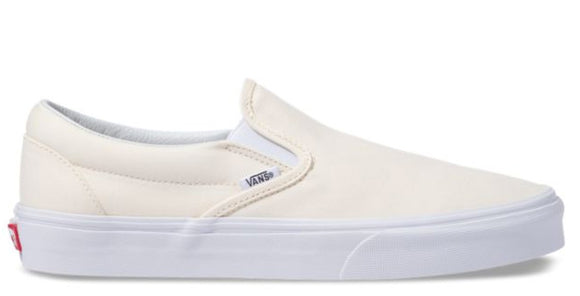 Vans - Classic Slip-On Shoes | White (Canvas)