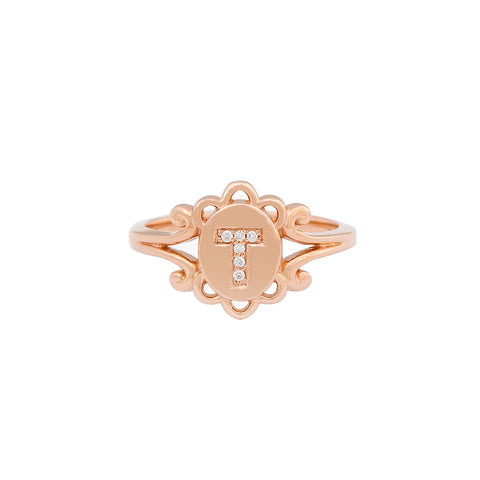 Tucker James Designs Elizabeth Signet Ring