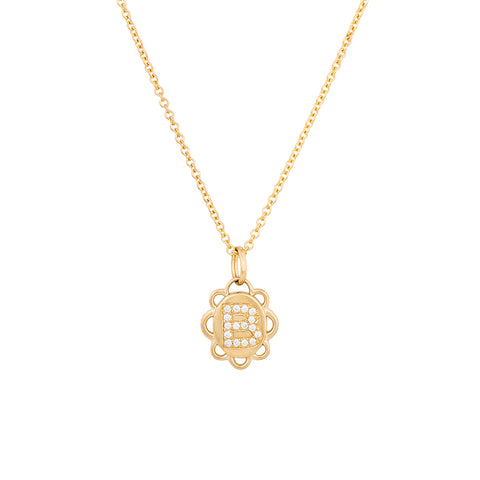 Tucker James Designs Elizabeth Signet Initial Pendant