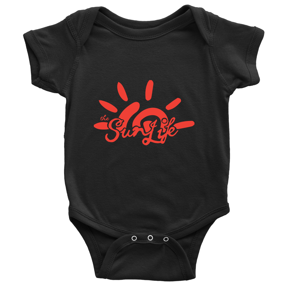 The Sun Life 'Heritage' Onesie ~ Black