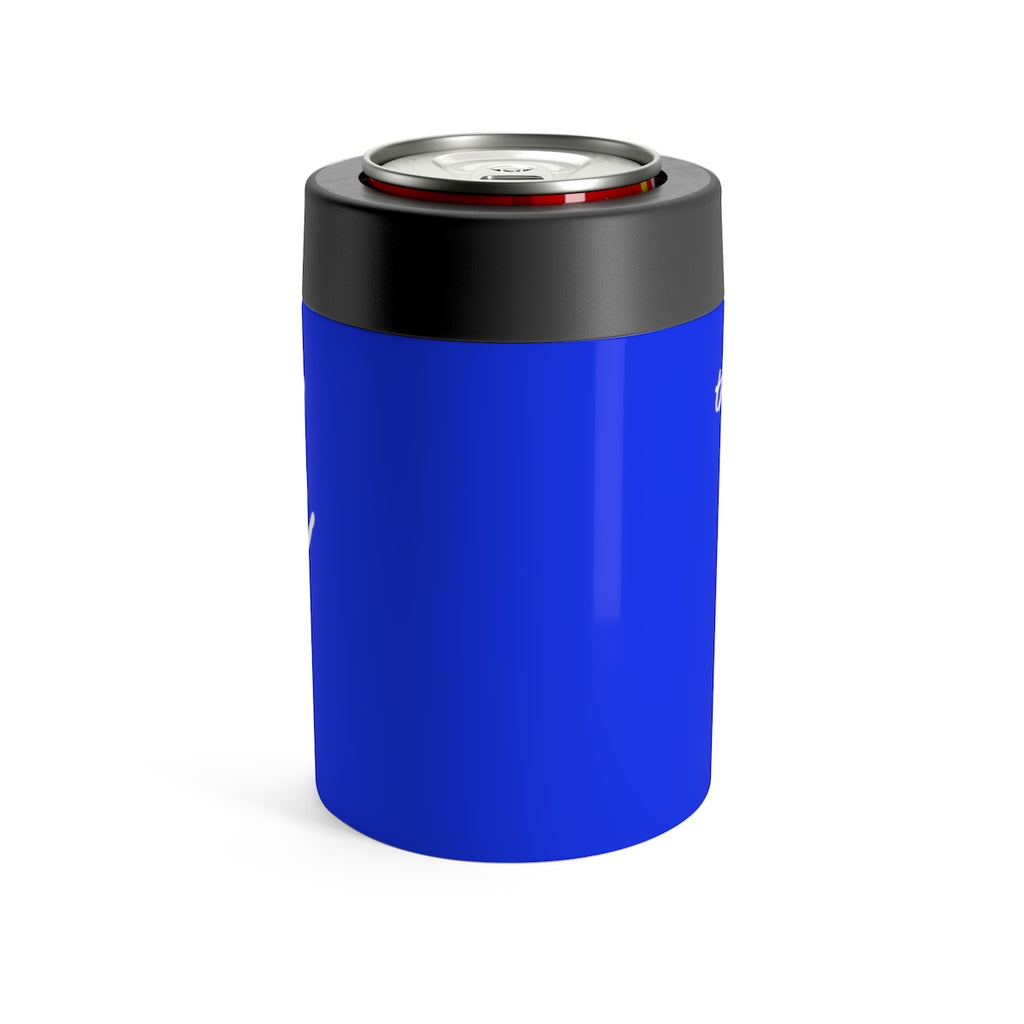 The Sun Life Can Holder ~ Royal Blue
