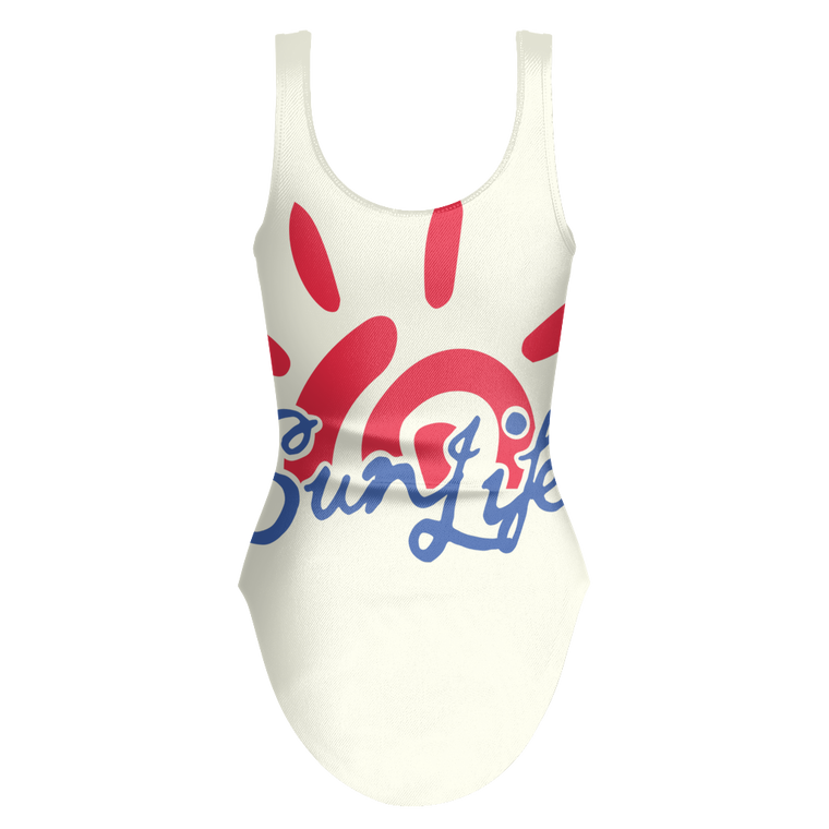 The Sun Life Swimsuit ~ Red/Royal