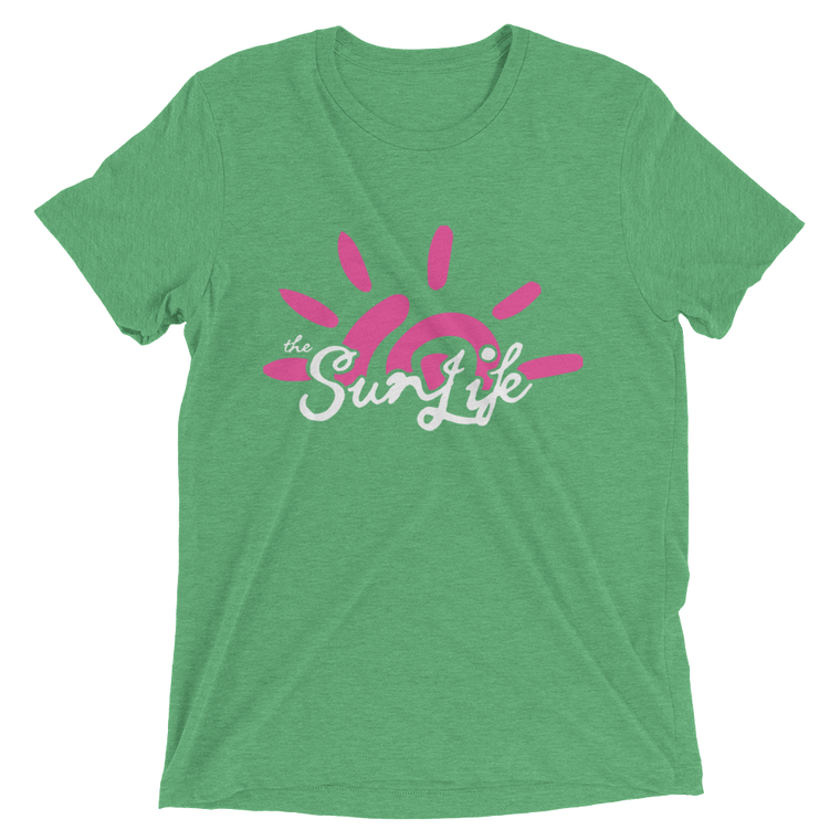 The Sun Life 'Vibrant' Mens t-shirt ~ Green