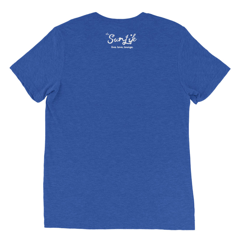 The Sun Life 'Vibrant' Mens t-shirt ~ True Royal