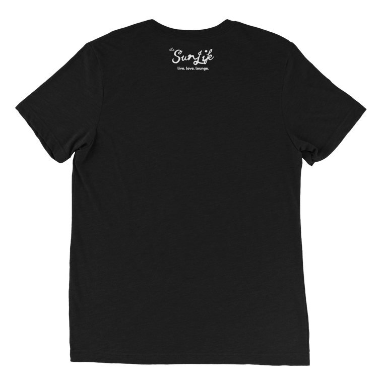 The Sun Life 'Vibrant' Mens t-shirt ~ Solid Black