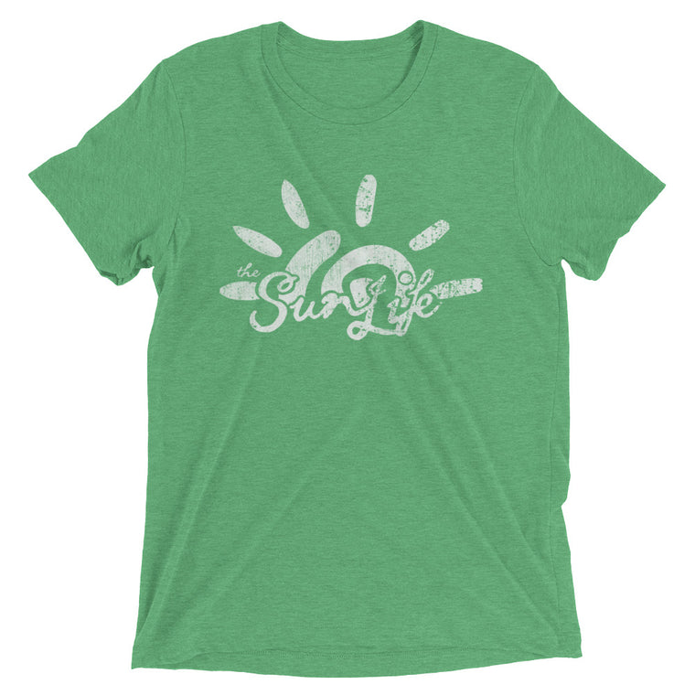 The Sun Life 'Heritage' Mens t-shirt ~ Snappy Green
