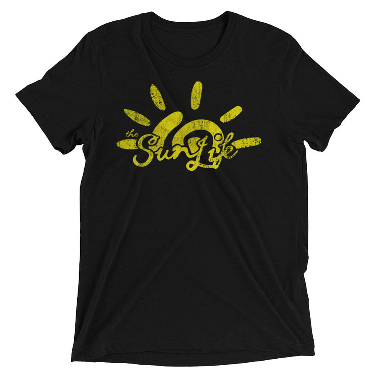 The Sun Life 'Heritage' Mens t-shirt ~ Boldly Black