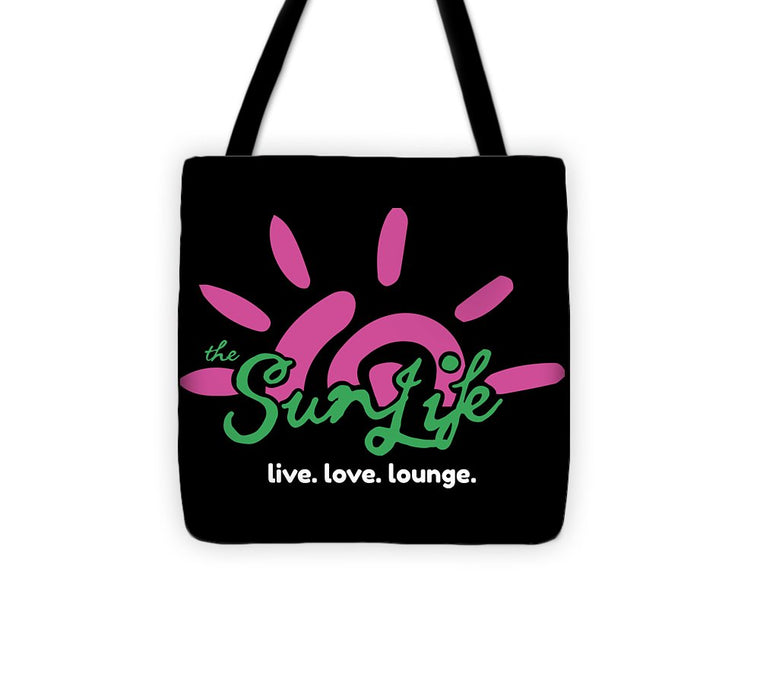 The Sun Life Medium Tote Bag ~ Black