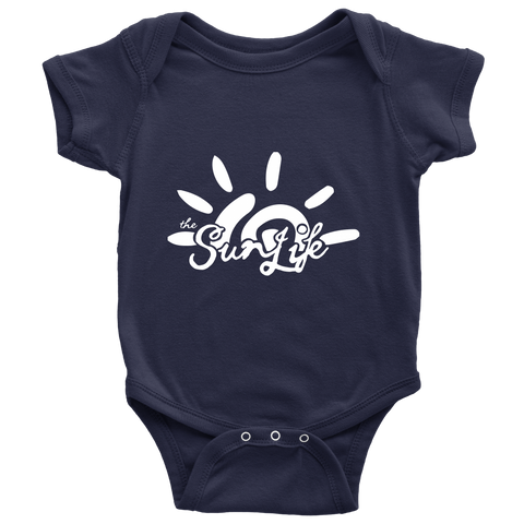 The Sun Life 'Heritage' Onesie ~ Navy
