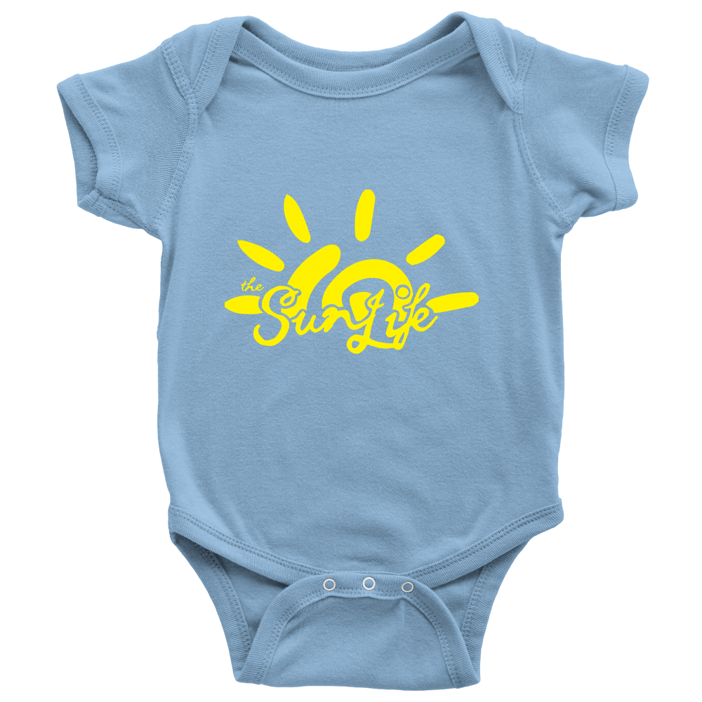 The Sun Life 'Heritage' Onesie ~ Light Blue