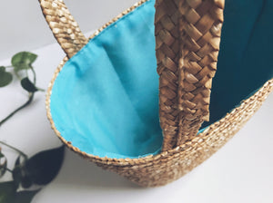 Vintage Basket Bag