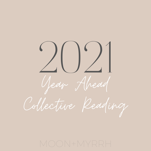 Virtual Workshop // 2021 Year Ahead Collective Reading