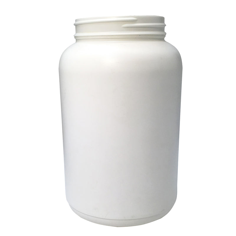 2 liter white jar with lid - karmasuds.com