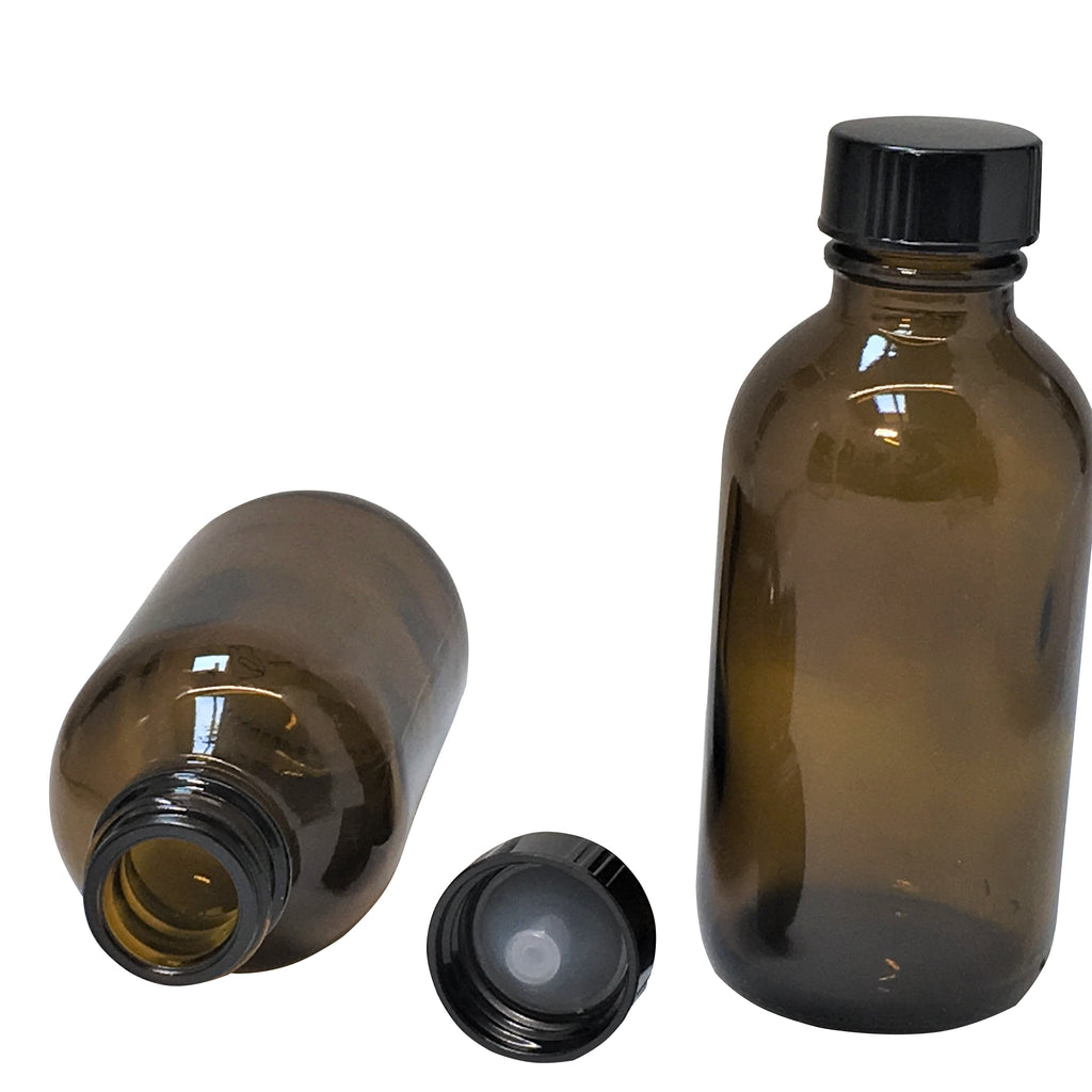 250 ml amber glass bottle with lid,packaging - Karma Suds