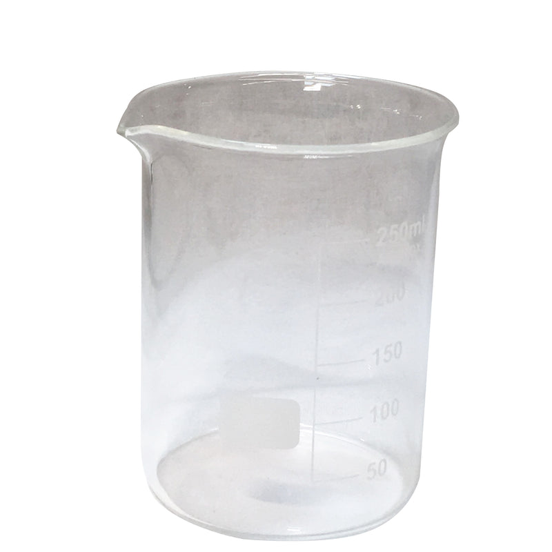 250 mL Glass Beaker,Measuring - Karma Suds
