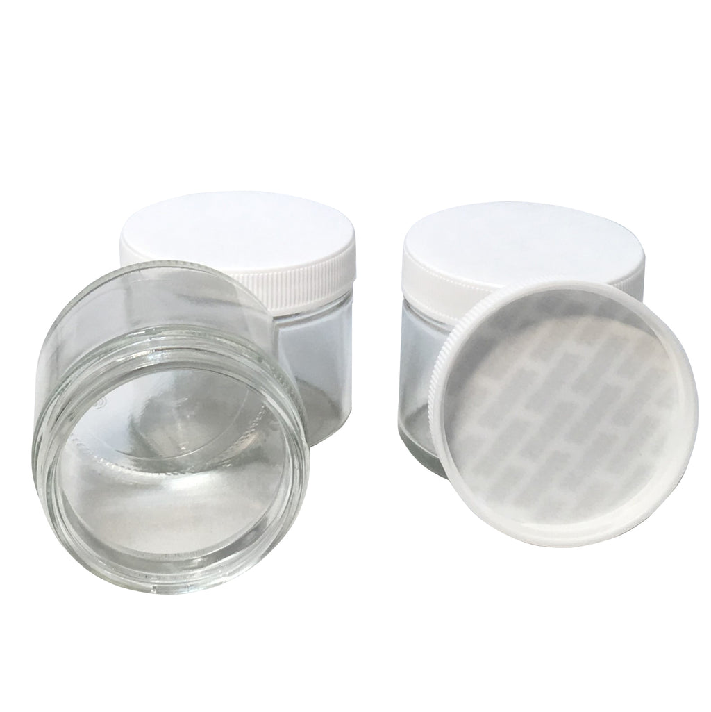 2 ounce glass jar with lid - karmasuds.com