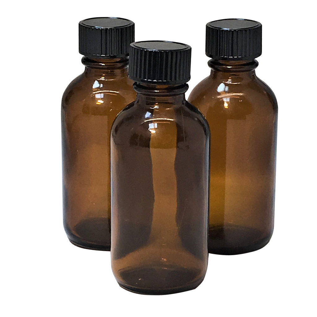 50 ml amber glass bottle with lid,packaging - Karma Suds