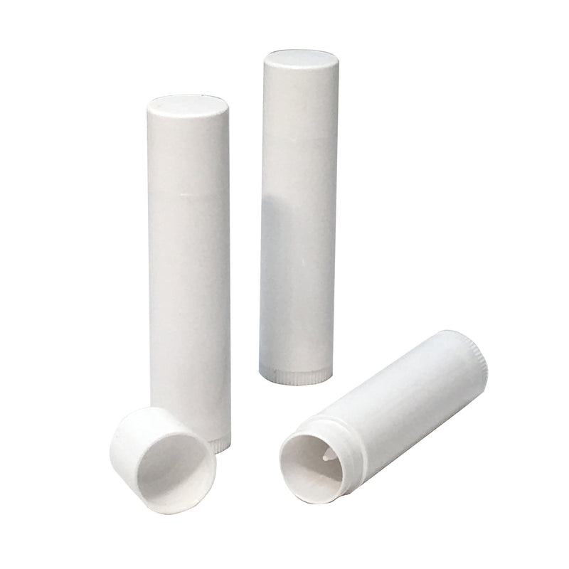 5 ml white lip balm tube,packaging - Karma Suds