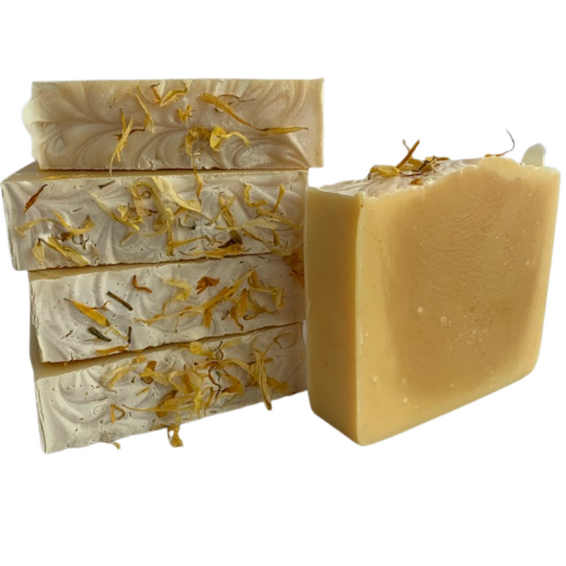 April Soap of the Month- Sunshiny Day -Natural Organic Bar Soap 4 oz