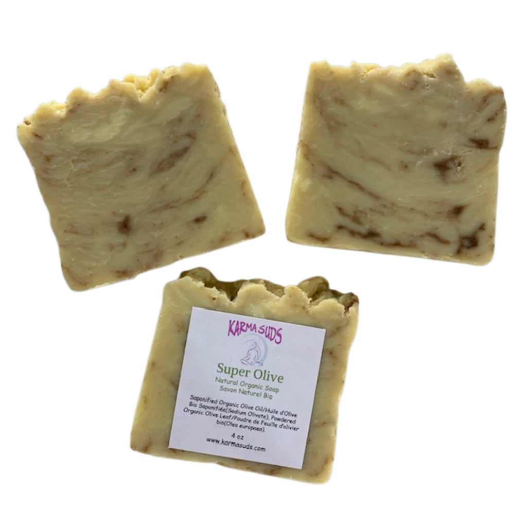 Ultimate Olive - Natural Organic Bar Soap - 4 oz