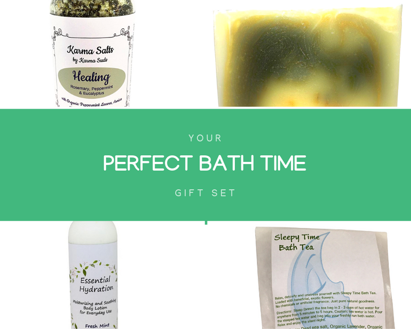 Your Perfect Bath Time Gift Set