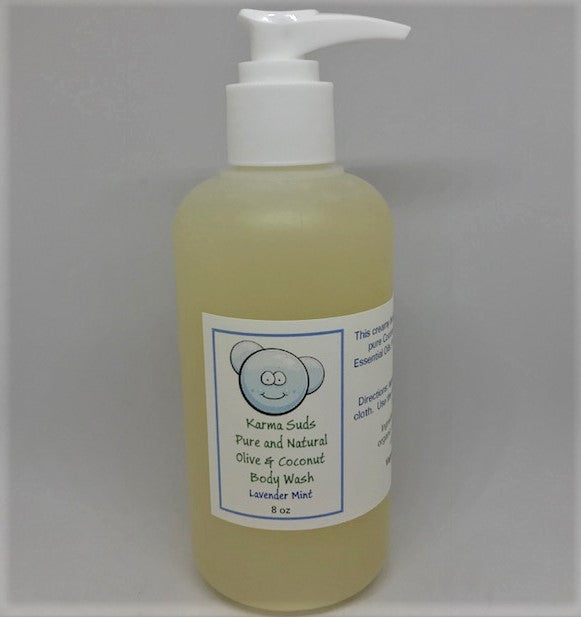 Pure and Natural Body Wash - 8 oz *NEW*