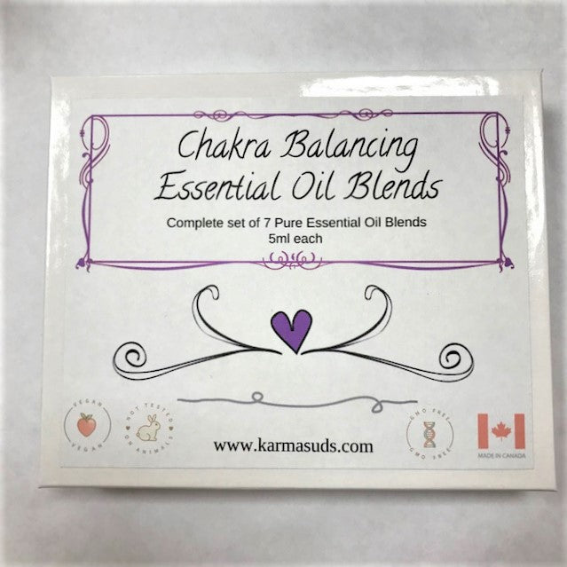 Chakra Balancing Essential Oil Blends Set