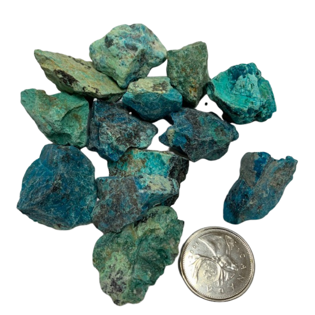 Chrysocolla -Reiki infused stones