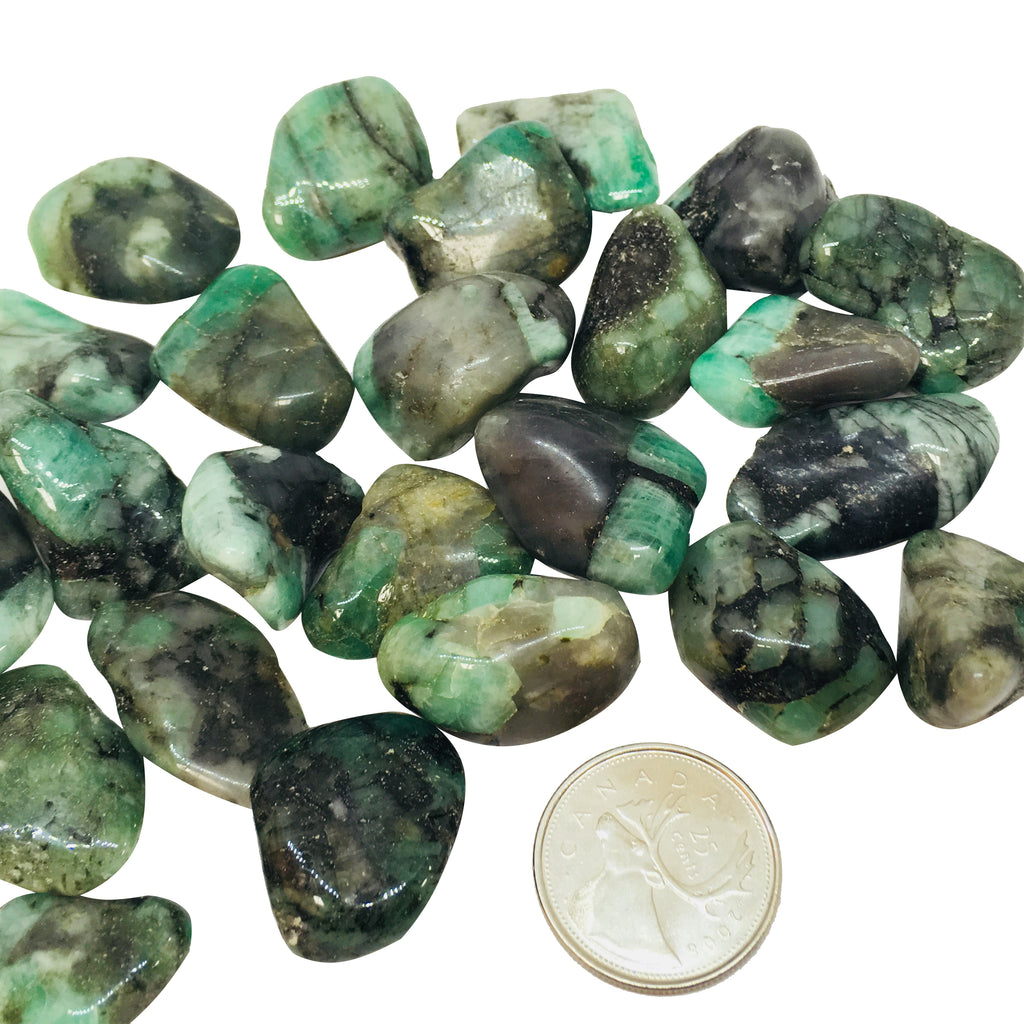 Emerald - Reiki infused tumbled stones