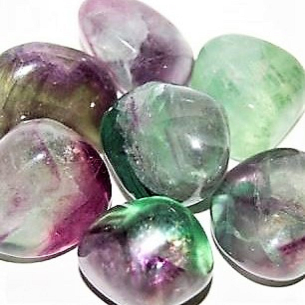 Fluorite - Reiki infused tumbled stones